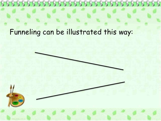 sequencing questions funneling
