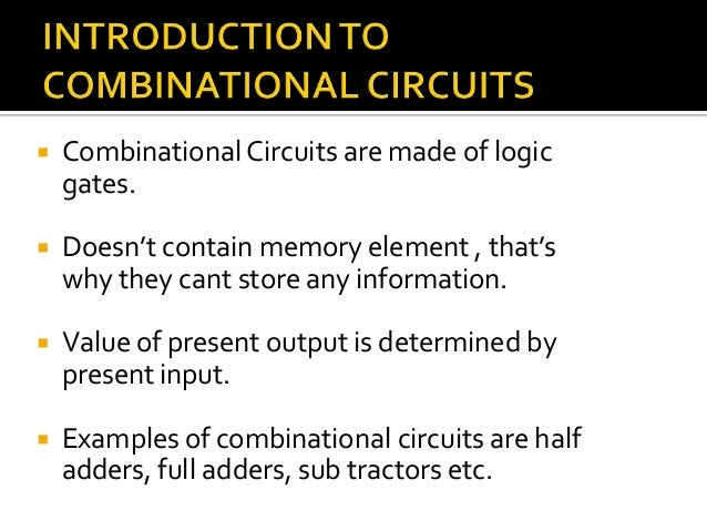 Sequential and combinational alu