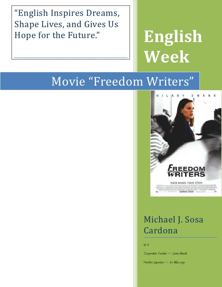 freedom writers analysis paper Check out our top free essays on summary on the movie freedom writers to  analysis or freedom writers  freedom writers research paper the freedom to be just a .