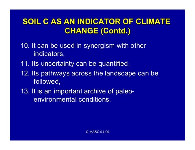 Sequestering carbon in soil for Soil uses and its importance