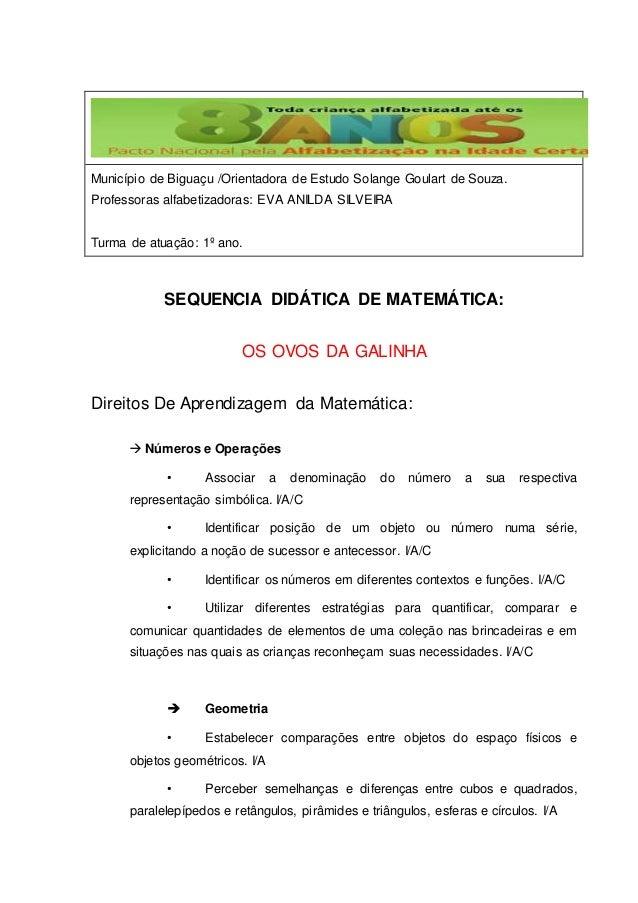 Município de Biguaçu /Orientadora de Estudo Solange Goulart de Souza. Professoras alfabetizadoras: EVA ANILDA SILVEIRA Tur...