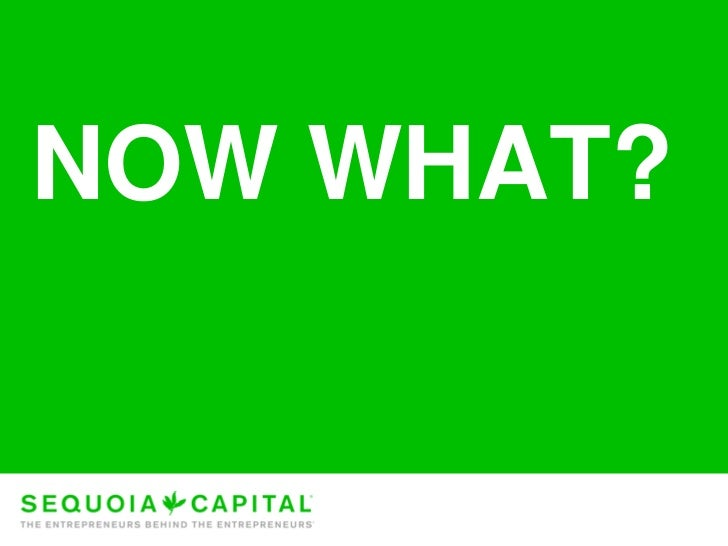 Sequoia Capital on startups and the economic downturn Slide 2