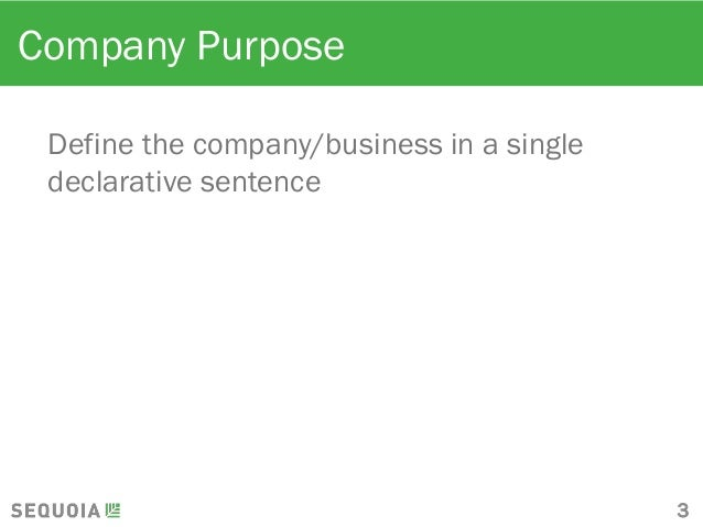 Sequoia Capital Pitch Deck Template - Vc deck template