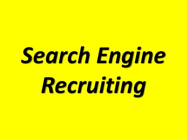 Search EngineRecruiting