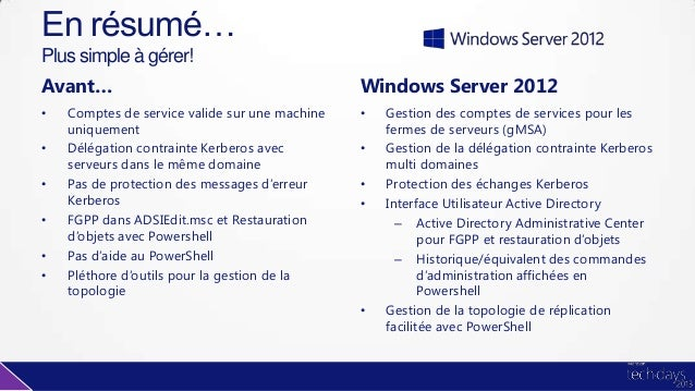 active directory   nouveaut u00e9s windows server 2012