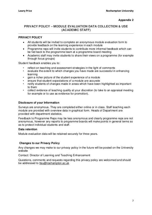 roehampton coursework cover sheet