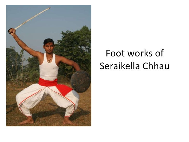 Footworks of Seraikella Chhau<br />