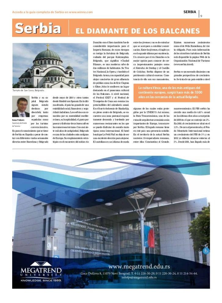 Acceda a la guía completa de Serbia en www.winne.com                                                                      ...