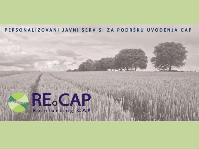 RECAP Horizon 2020 Project - Serbian Brochure