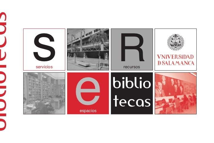bibliotecas              s              servicios                                     Rrecursos                          e...
