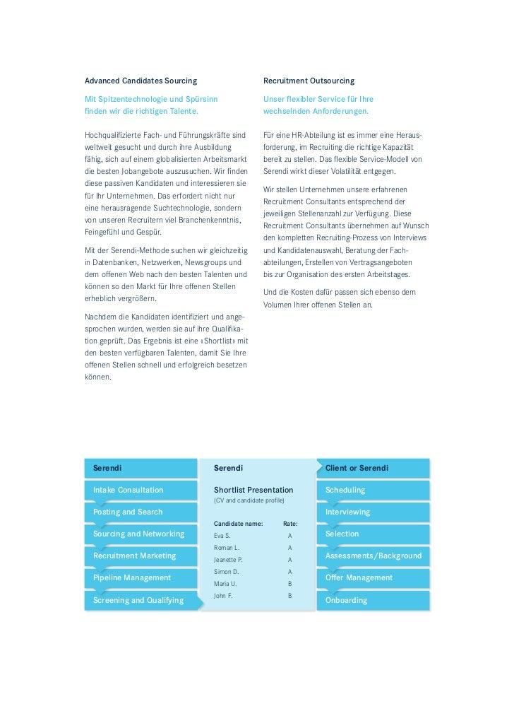 Advanced Candidates Sourcing                              Recruitment OutsourcingMit Spitzentechnologie und Spürsinn      ...