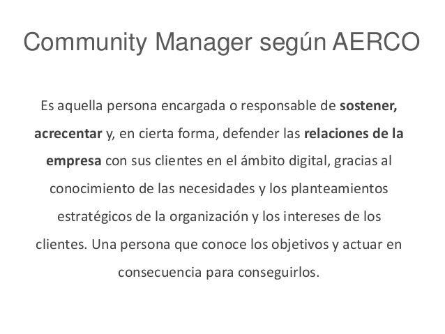 Ser Community Manager en agencia  Slide 2