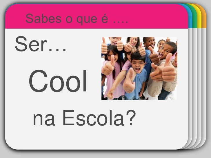 Sabes o que é ….  Ser…      WINTER         Template   Cool  na Escola?