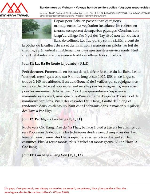 Départ pour Babe en passant par les régionsmontagneuses. La végétation luxuriante, les rizières enterrasse composent de su...