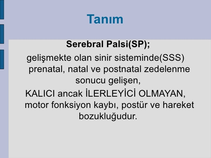 Serebral palsi Slide 2