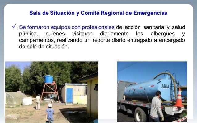 Sala de Situación y Comité Regional de Emergencias  Se formaron equipos con profesionales de acción sanitaria y salud púb...