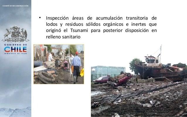 • Habilitación de sitios transitorios para la acumulación de Residuos domiciliarios y escombros • Reapertura de antiguos v...