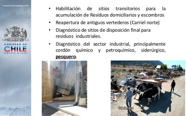  Eliminación y destrucción de alimentos descompuestos en mercados, supermercados, carnicerías, lugares de almacenamiento ...