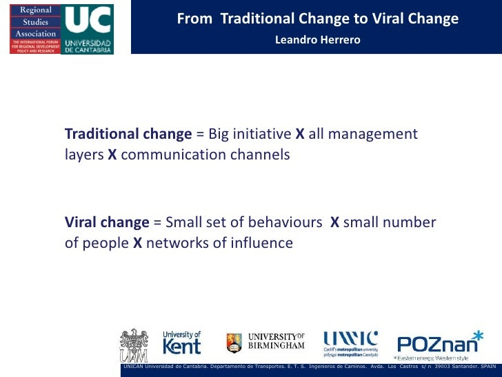 From Traditional Change to Viral Change                                                                Leandro HerreroTrad...