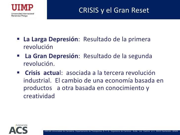 CRISIS y el Gran Reset La Larga Depresión: Resultado de la primera  revolución La Gran Depresión: Resultado de la segund...