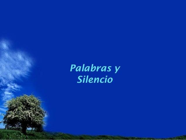 Palabras ySilencio