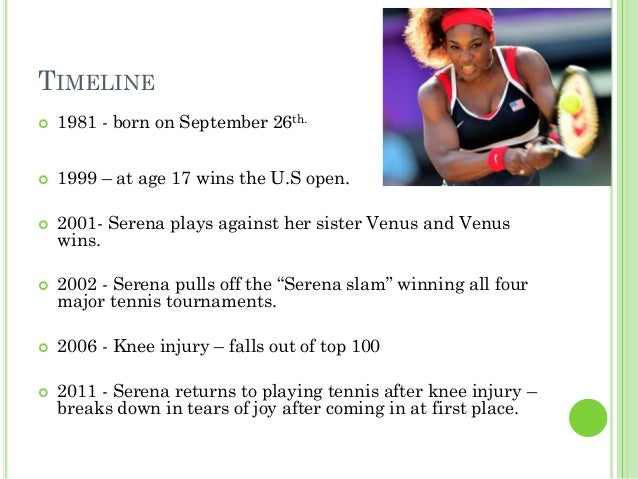Serena Williams Facts For Kids