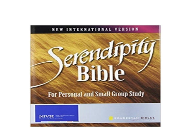 Download P D F Serendipity Bible For Personal And Small Group