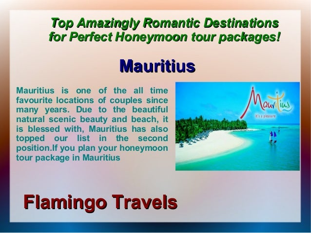 Serene beauty for the perfect honeymoon tour packages Slide 3