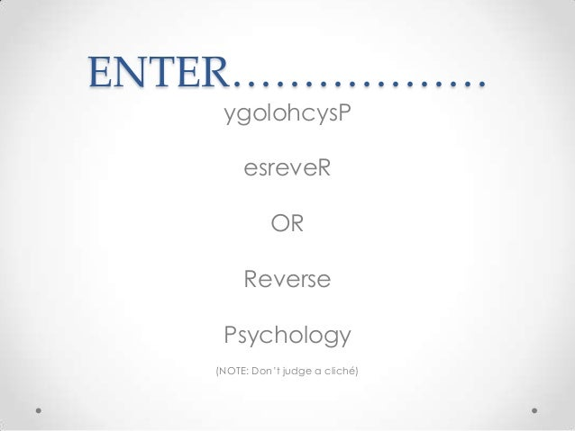 reverse psychology by themin - photo #6