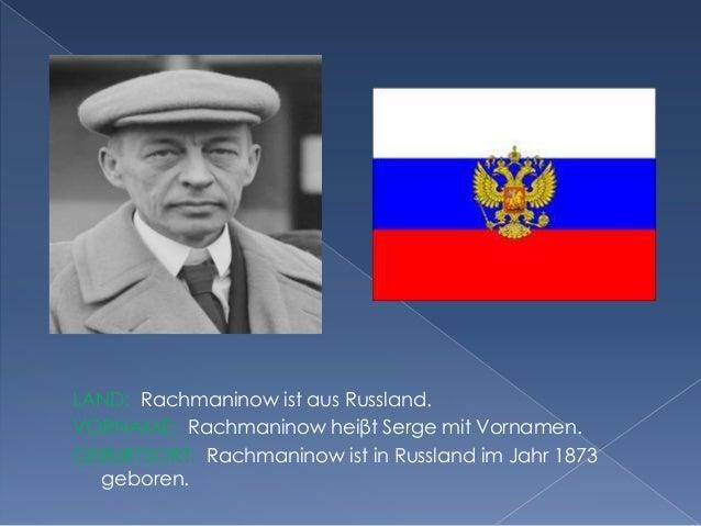 Serge Rachmaninow Slide 2