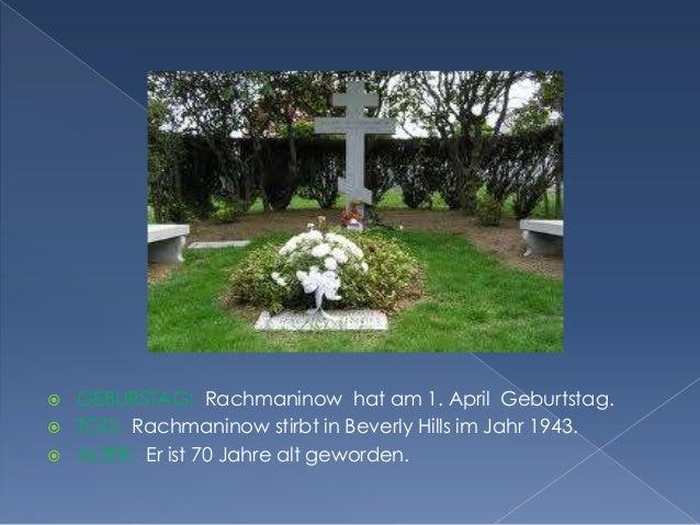 Serge Rachmaninow Slide 3
