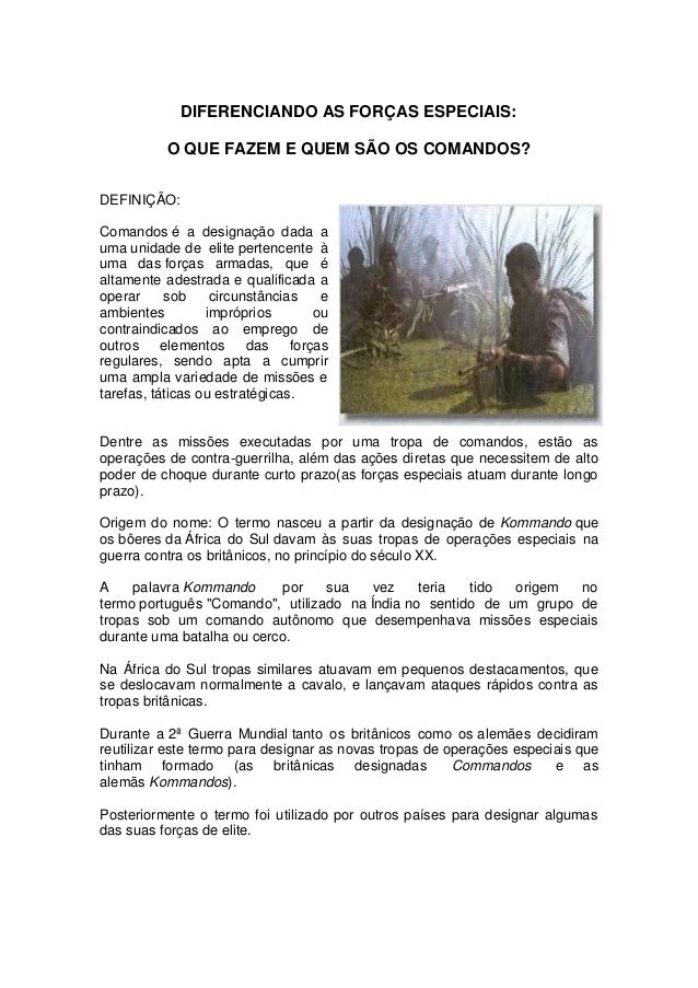 3a35c67f25899 O QUE OS DIFERENCIA DAS FORÇAS ESPECIAIS