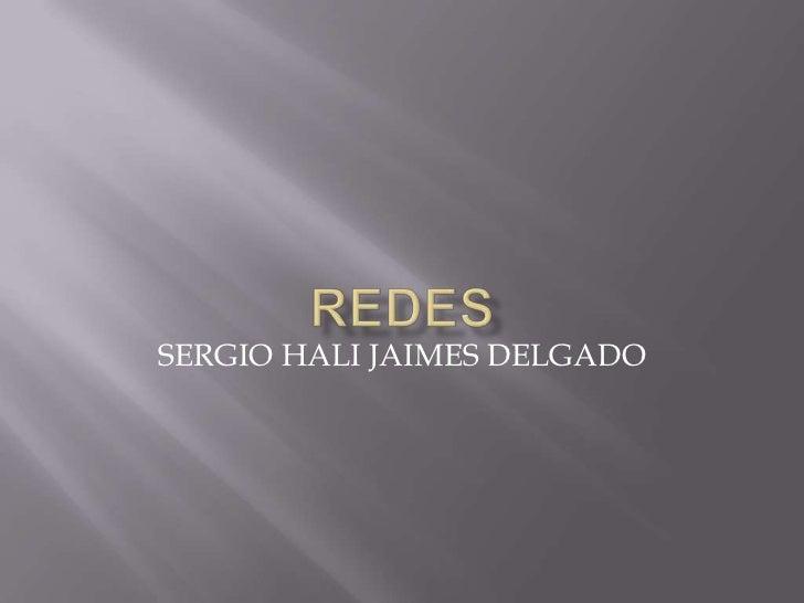 SERGIO HALI JAIMES DELGADO