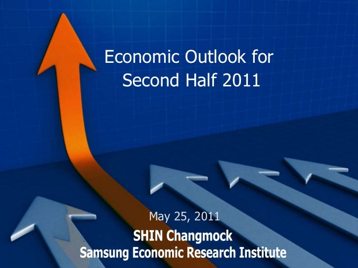 Economic Outlook for  Second Half 2011 Samsung Economic Research Institute SHIN Changmock May 25, 2011