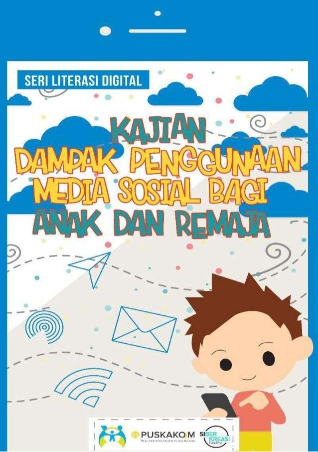 Seri Buku Literasi Digital Kajian Dampak Media Sosial Bagi Anak Dan