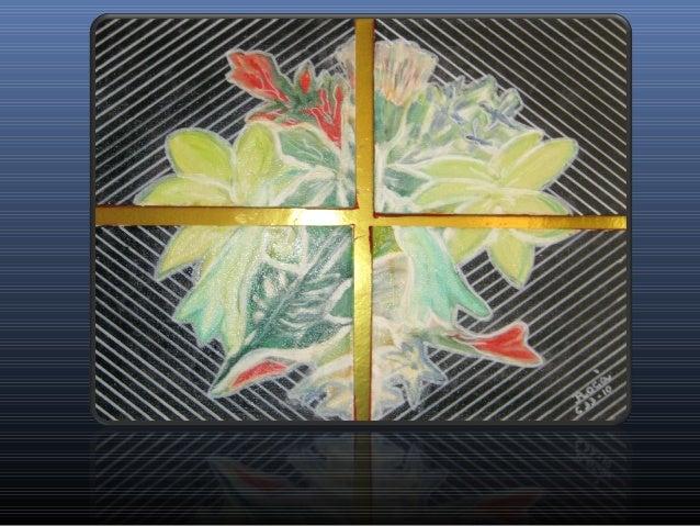 Serie composiciones figurativas compuestas esencia floral