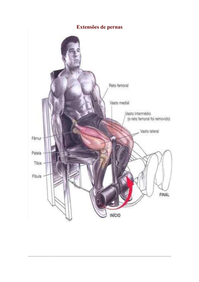 Extensões de pernas