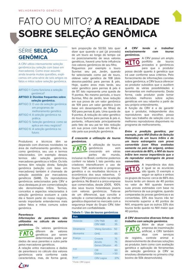 Serie genomica 2 junho_2013