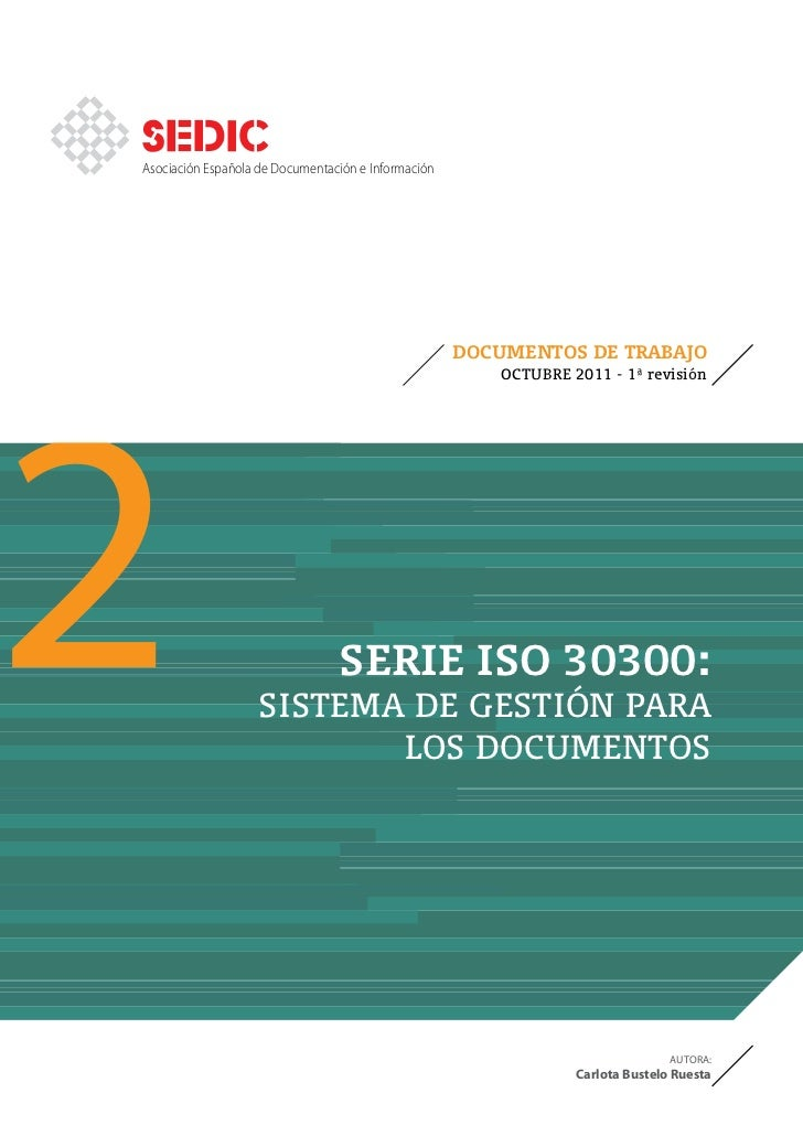 Asociación Española de Documentación e Información2                                                     DOCUMENTOS DE TRAB...