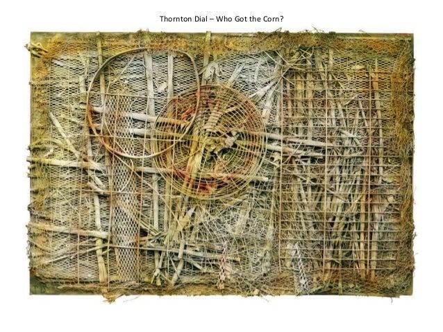 Thornton Dial – Who Got the Corn?