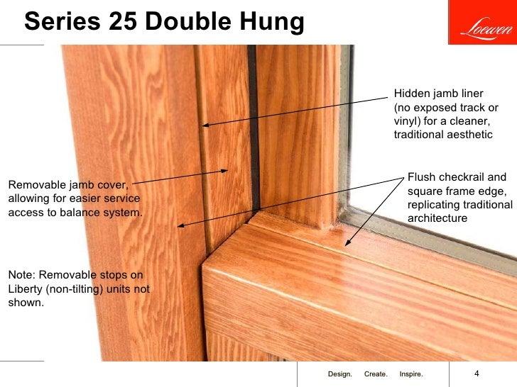 sc 1 st  SlideShare & Loewen\u0027s New Double Hung Window pezcame.com