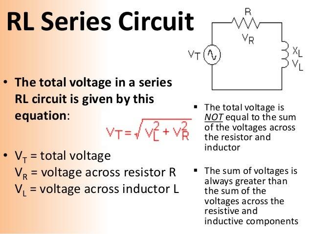 series ac circuit rh slideshare net series circuit calculate current series circuit resistance