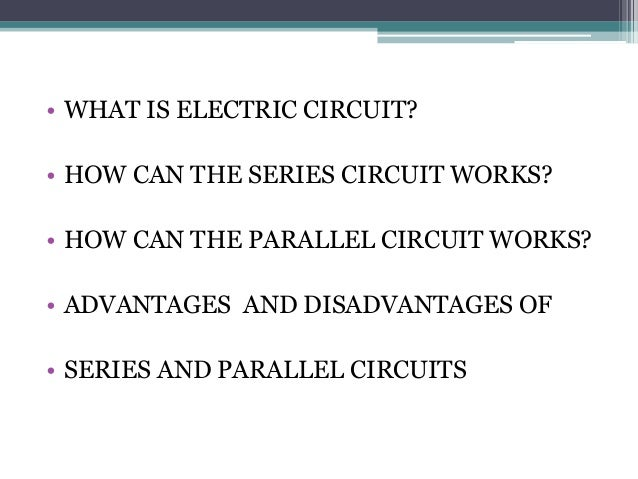 Series and parallel circuit Slide 3