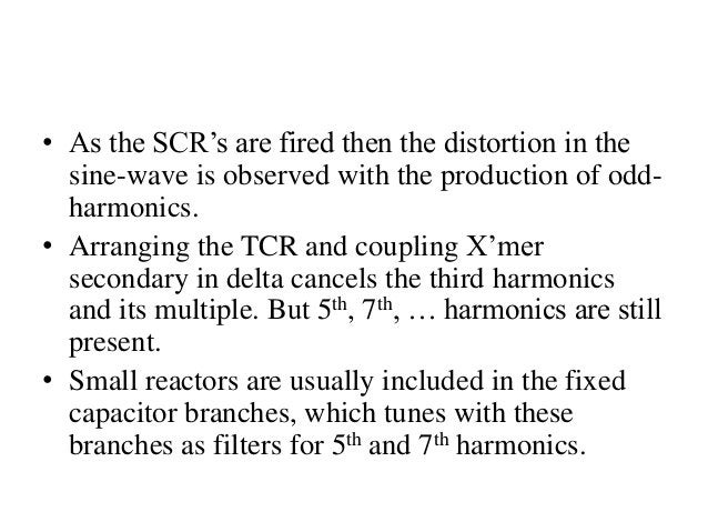• As the SCR's are fired then the distortion in the sine-wave is observed with the production of odd- harmonics. • Arrangi...
