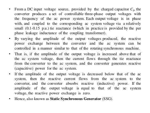 • From a DC input voltage source, provided by the charged capacitor CS, the converter produces a set of controllable three...