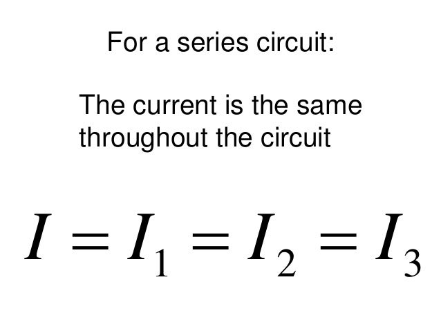 series circuits lesson