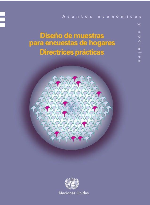 A s u n t o s  e c o n ó m i c o s y  Publicación de las Naciones Unidas 05-67065—Junio 2009—700  Naciones Unidas  ISBN 97...