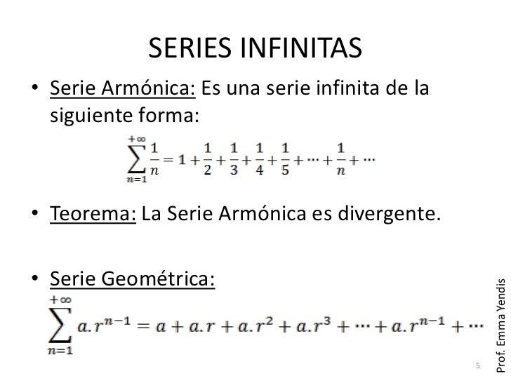 Series infinitas - Inmobiliaria serie 5 ...