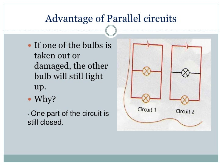 Advantages Of Wiring Lamps In Parallel - Circuit Wiring And Diagram ...