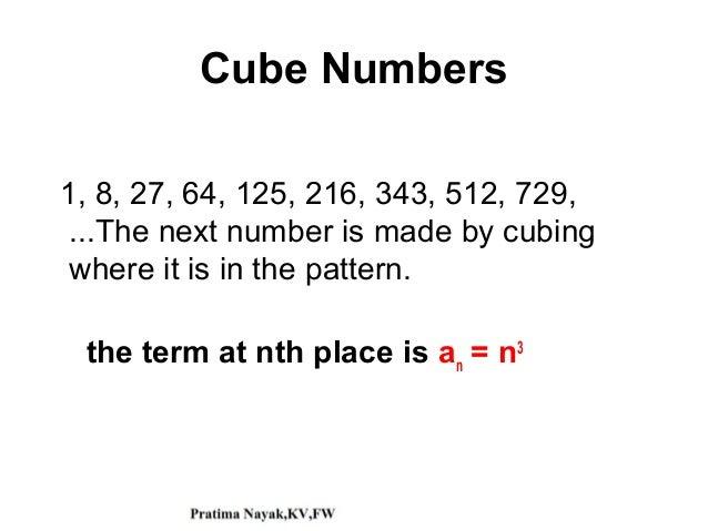 Series Progression Mathematics